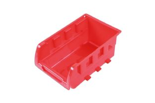 Connect 36991 Red Storage Bins 160mm x 103mm x 72mm Box of 20